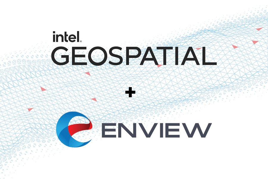 Intel Launches Geospatial Platform in Partnership with Enview Amidst Big Year for LiDAR